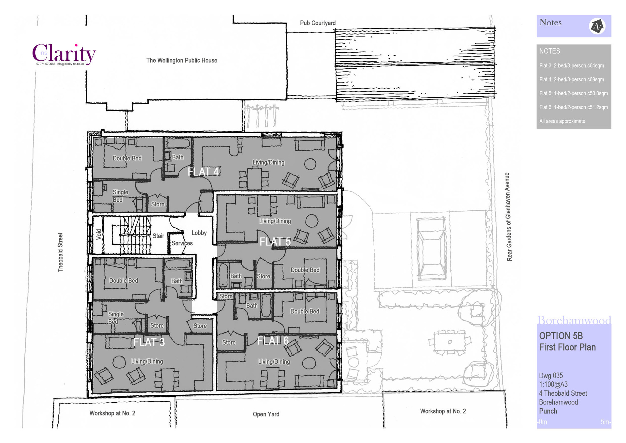 035 option 5b first floor plan