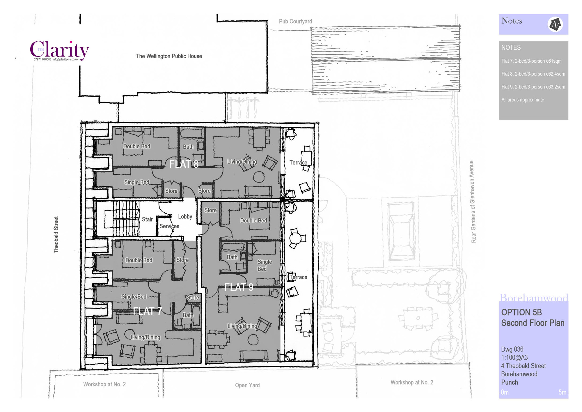 036 option 5b second floor plan